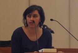 Stadträtin Mandy Gehrt (Fraktion Die Linke). Foto: Alexander Böhm