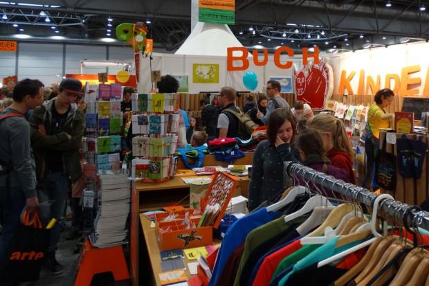Leipziger Buchmesse 2015: Buchkinder Leipzig. Foto: Patrick Kulow