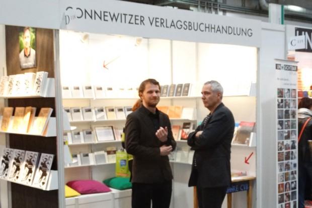 Leipziger Buchmesse 2015: die Connewitzer Verlagsbuchhandlung. Foto: Patrick Kulow