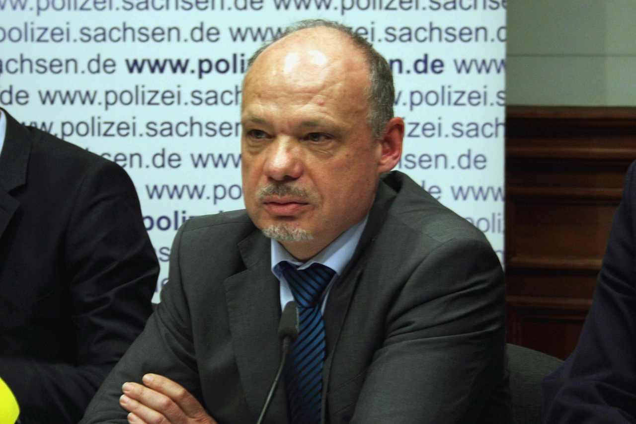 Petric Kleine, seit 2017 Chef des LKA Sachsen. Foto: Alexander Böhm (Archiv)