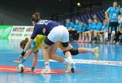 Gegen den Tabellenführer aus Podgorica (Montenegro) geriet der HC Leipzig mächtig unter die Räder. Foto: Jan Kaefer