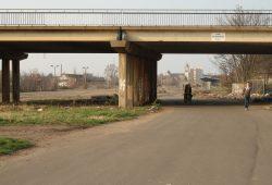 Blick durch die alte Antonienbrücke: Aus einer Bahnbrache wird ein Bürgerpark. Foto: Ralf Julke