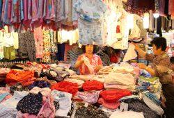 Was könnte ein koreanischer Textilmarkt mit Bach zu tun haben? Foto: Lofft