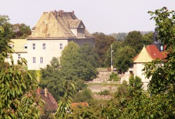 Das Schloss Mutzschen soll wieder mit Leben gefüllt werden. Foto: Stadt Grimma
