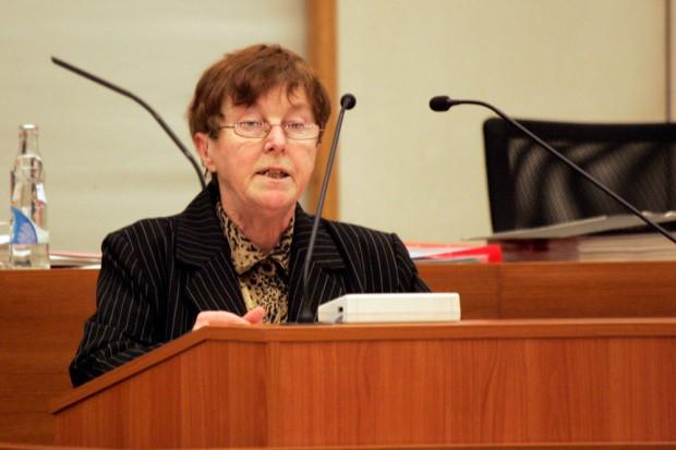 Birgitt Mai (Die Linke). Foto: L-IZ.de