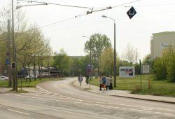In Großzschocher eigentlich ganz gut gelegen: die Bismarckstraße. Foto: Ralf Julke