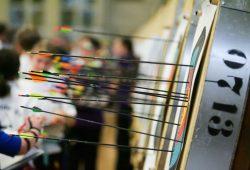 Insgesamt 13 MoGoNo-Bogensportler gingen bei der Deutschen Meisterschaft an den Start. Foto: Jan Kaefer
