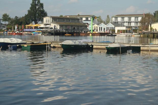 Cospudener See - Blick zum Pier 1. Foto: Ralf Julke