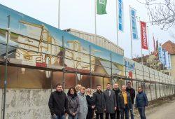 Dauthestraße 6: Offizieller Startschuss mit allen Partnern. Foto: Leipziger Stadtbau AG