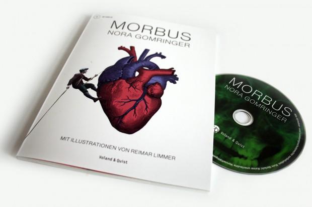 Nora Gomringer: Morbus. Foto: Ralf Julke