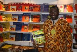 Patrick K. Addai erzählt in seinen Büchern von Ghana. Foto: Ernst-Ulrich Kneitschel
