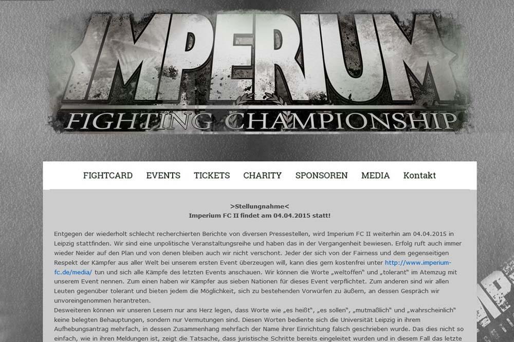 Die Veranstalter haben im Netz eine Stellungnahme veröffentlicht. Foto: Screenshot