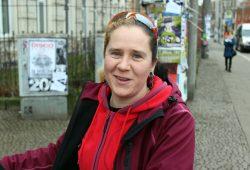 Katja Engemann von der Bandcommunity Leipzig & EAT EAT EAT. Foto: Volly Tanner