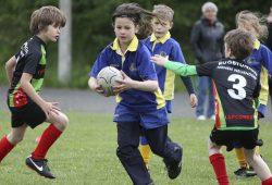 Auch die Jüngsten haben Spaß am Rugby. Foto: RCL