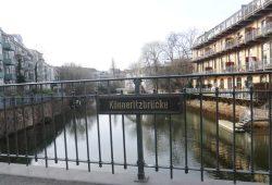 Beliebter Wohnort am Wasser: Könneritzbrücke zwischen Plagwitz und Schleußig. Foto: Marko Hofmann