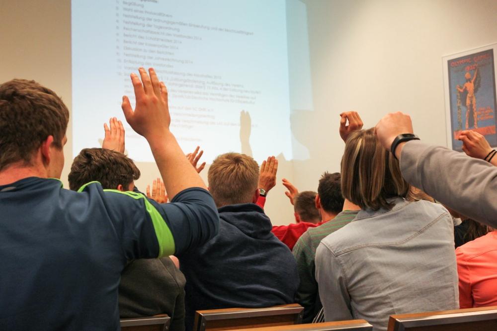 Ebenso einstimmig wie auf der Versammlung des LAZ (Foto) ging es beim SC DHfK zu. Foto: Jan Kaefer