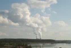 Kohlekraftwerk Lippendorf im Südraum Leipzig. Foto: Ralf Julke