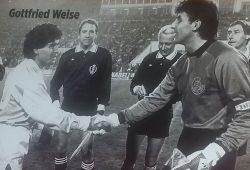 """Als Maradona 80.000 lockte"". Foto: Marko Hofmann"