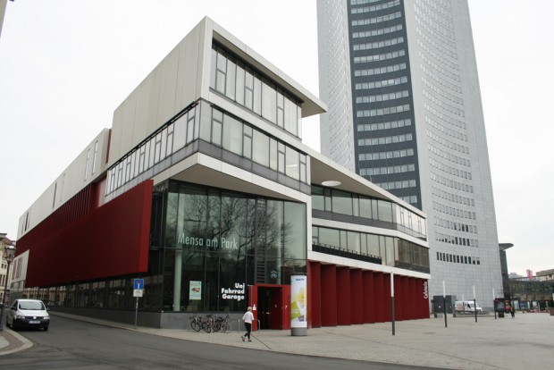 Die Mensa am Park des Studentenwerks Leipzig. Foto: Ralf Julke