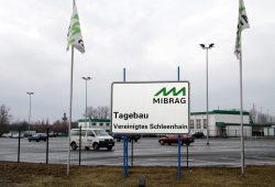 """Tagebau """"Vereinigtes Schleenhain"""" der Mibrag. Foto: Matthias Weidemann"""