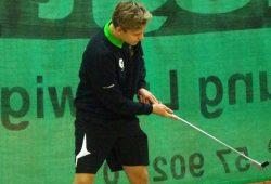 BGC-Talent Johannes Lieber bestritt seinen ersten internationalen Wettkampf. Foto: Deutsche Minigolfjugend