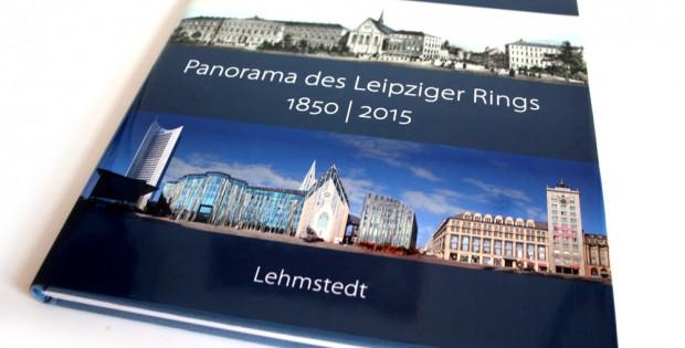 Jörg Dietrich: Panorama des Leipziger Rings. 1850 / 2015. Foto: Ralf Julke