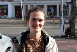 Stammesführerin Sophie Grigutsch vom Leipziger Pfadfinder-Stamm LEO. Foto: Volly Tanner