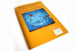 """Poesiealbum neu """"Gedichte von Welt. Leipzigs Partnerstädte"""". Foto: Ralf Julke"""