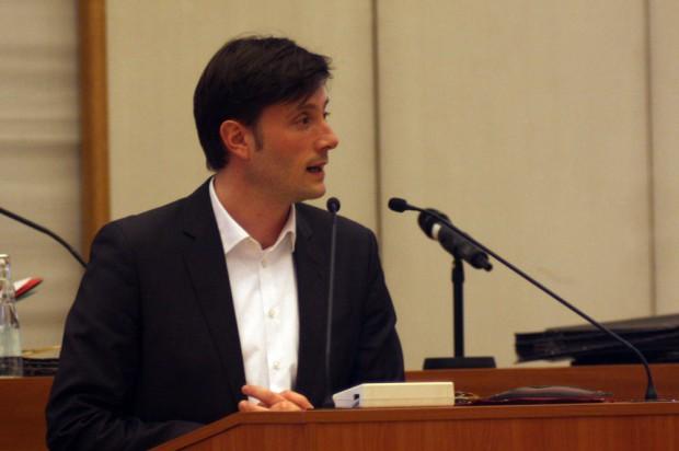 Umweltbürgermeister Heiko Rosenthal. Foto: Alexander Böhm