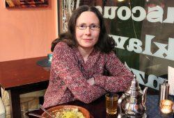Kneipenlyrik-Mitorganisatora Sara Fromm. Foto: Volly Tanner