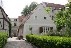 Attraktion in Gohlis: das Schillerhaus in der Menckestraße. Foto: Ralf Julke