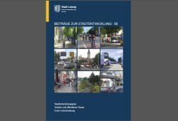 Der neue STEP Verkehr der Stadt Leipzig. Cover: Stadt Leipzig