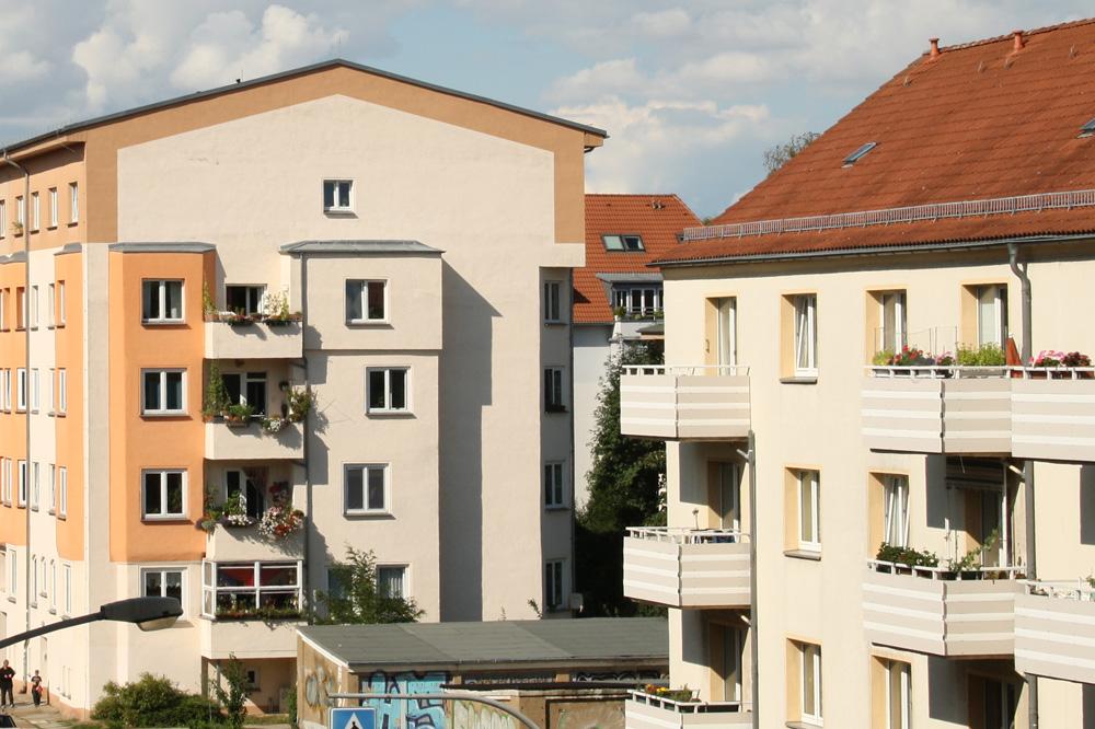 Auch in Leipzig muss der soziale Wohnungsbau wieder in Gang kommen. Foto: Ralf Julke