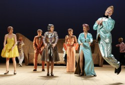 Die Volksbühne zu Gast in Leipzig. Foto: Thomas Aurin / Schauspiel Leipzig