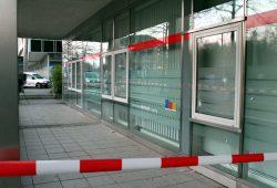 Seit heute Morgen ermitteln Polizei und Staatsschutz. Foto: PD Leipzig