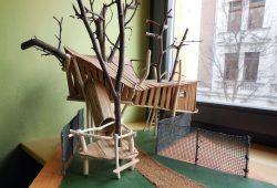 So soll das Baumhaus aussehen. Foto: Mütterzentrum e.V. Leipzig