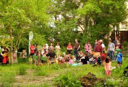 Frühlingsfest im Stadtgarten Connewitz. Foto: Ökolöwe