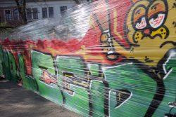 No Legida Graffiti. Foto: Alexander Böhm
