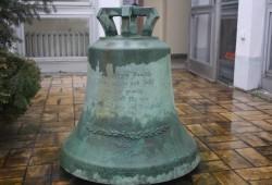 Die 1937 gegossene Glocke der alten Propstei am Ring. Foto: Ernst-Ulrich Kneitschel
