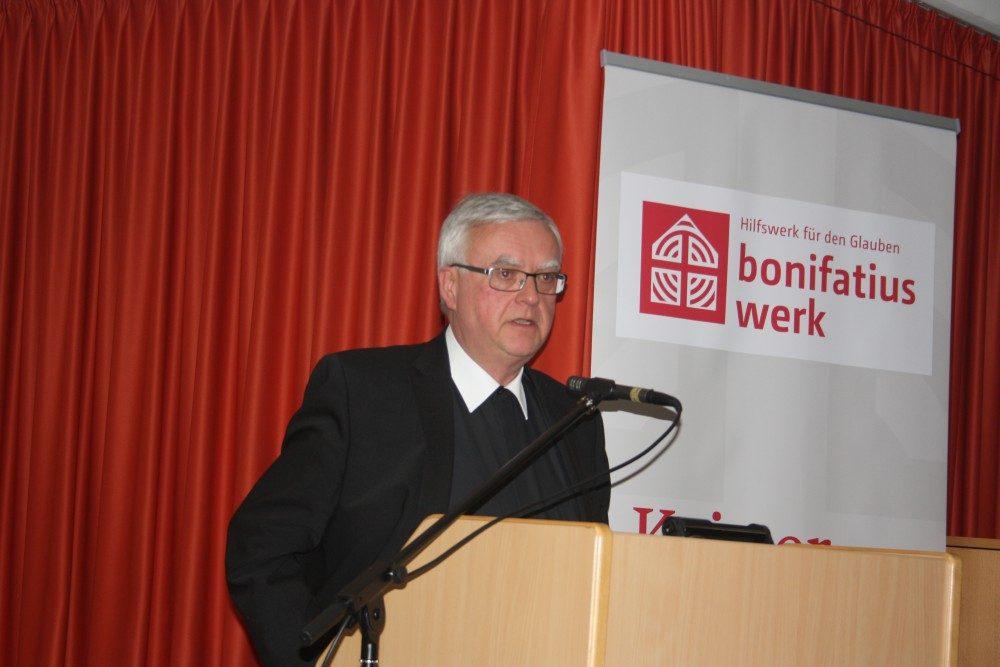 Bischof Heiner Koch. Foto: Ernst-Ulrich Kneitschel