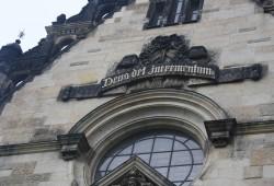 Reformierte Kirche, Leitspruch. Foto: Ernst-Ulrich Kneitschel