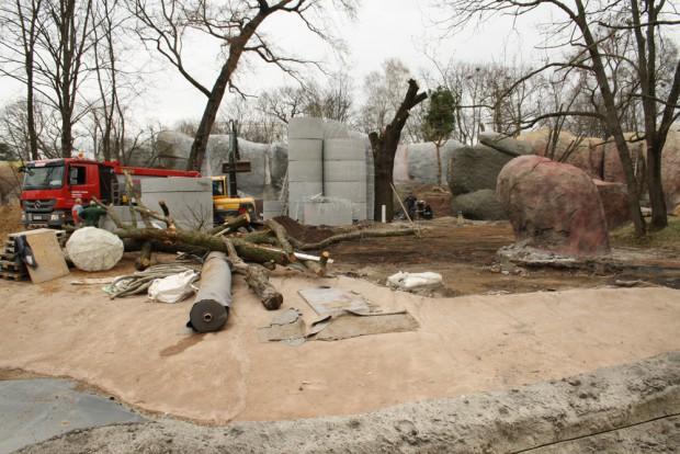 In der Kiwara-Kopje werden noch Kopjes gebaut. Foto: Ralf Julke