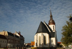 Laurentiuskirche in Markranstädt. Foto: Ralf Julke