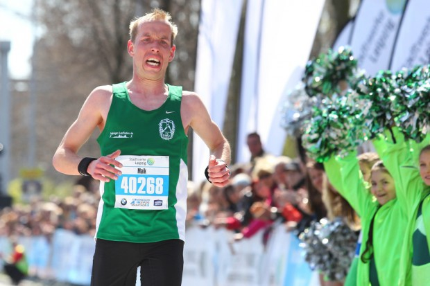 Maik Willbrandt (SC DHfK) lief neue persönliche Bestzeit und wurde als schnellster Deutscher Vierter. Foto: Jan Kaefer