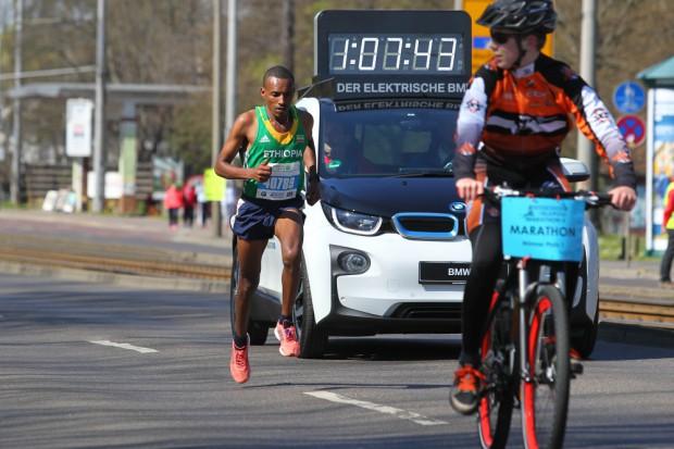 Der Sieger kam aus Äthiopien: Tekalegn Tebelu Abebe. Foto: Jan Kaefer