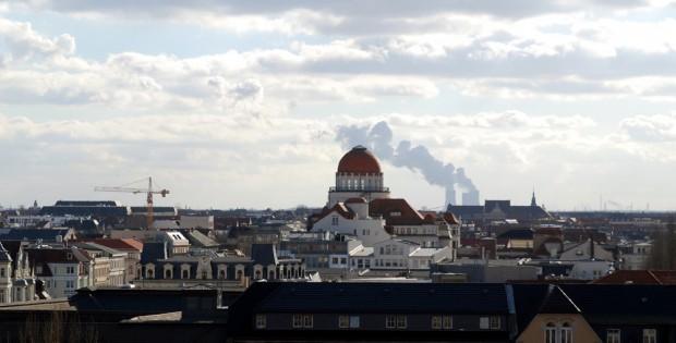 Blick über die Leipziger Skyline Richtung Süden. Foto: Michael Freitag