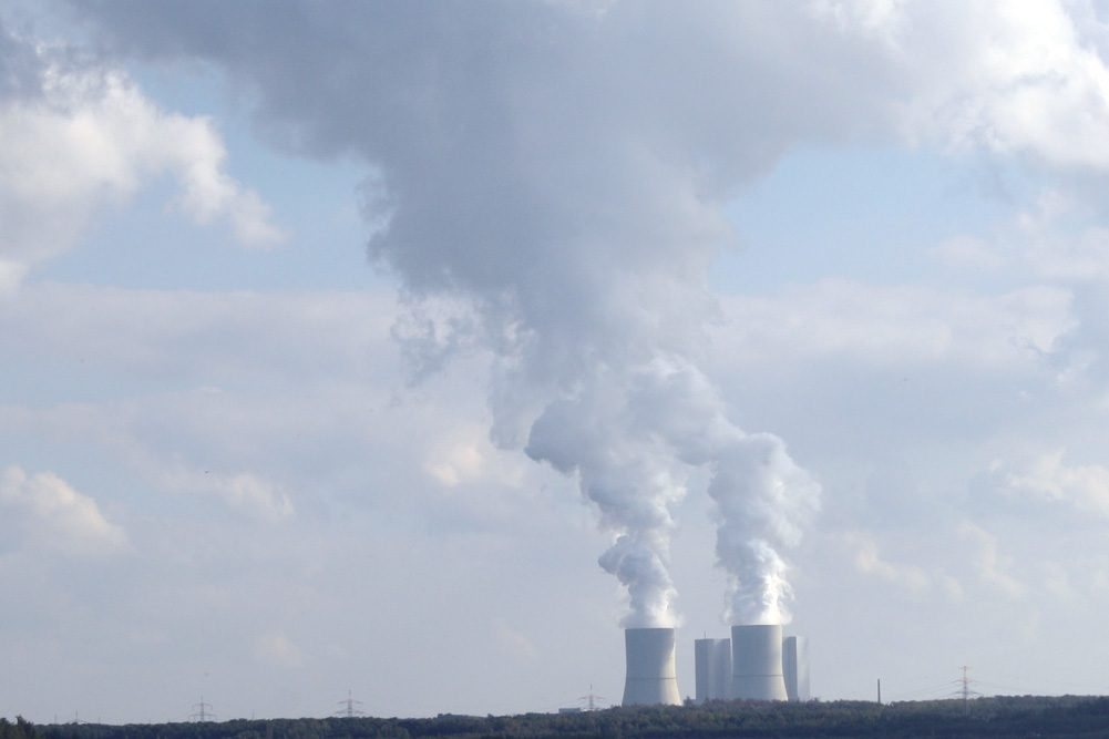 Das Kohlekraftwerk Lippendorf im Südraum Leipzigs. Foto: Ralf Julke