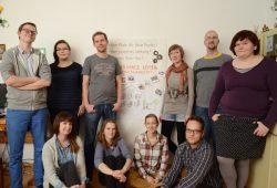 Die Kernmannschaft des Makerspace Leipzig. Foto: Dennis Jackstien