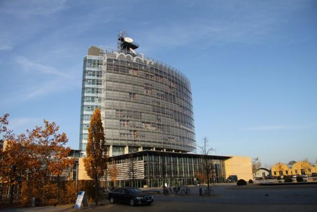 Hochhaus der MDR-Zentrale in Leipzig. Foto: Matthias Weidemann