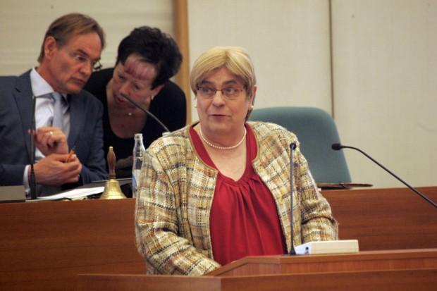 Naomi-Pia Witte (Linke). Foto: L-IZ.de